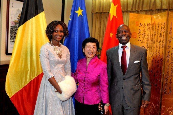 <!--:es-->El Embajador de Guinea Ecuatorial en Bruselas asiste junto a su esposa a la recepción oficial con motivo de la Fiesta Nacional de China<!--:-->