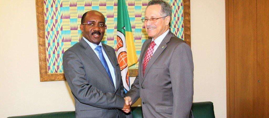 El Ministro de Pesca también apoya la candidatura de Guinea Ecuatorial