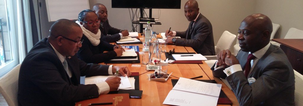Reunión preparatoria de Guinea Ecuatorial antes del Consejo de Ministros ACP