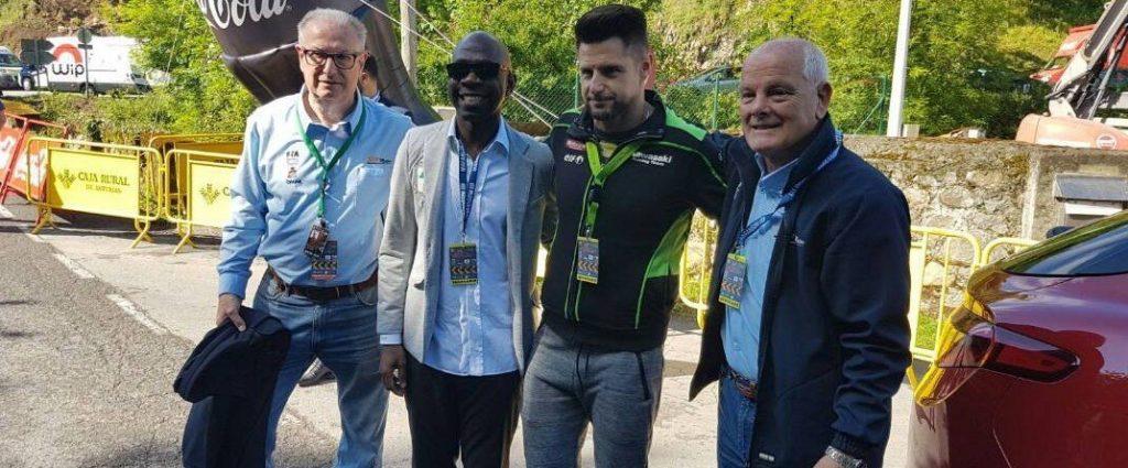 Guinea Ecuatorial invitado en un evento deportivo de alto nivel