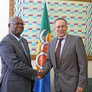 Nuestro Embajador felicita al Presidente de la República por el Golpe de Libertad