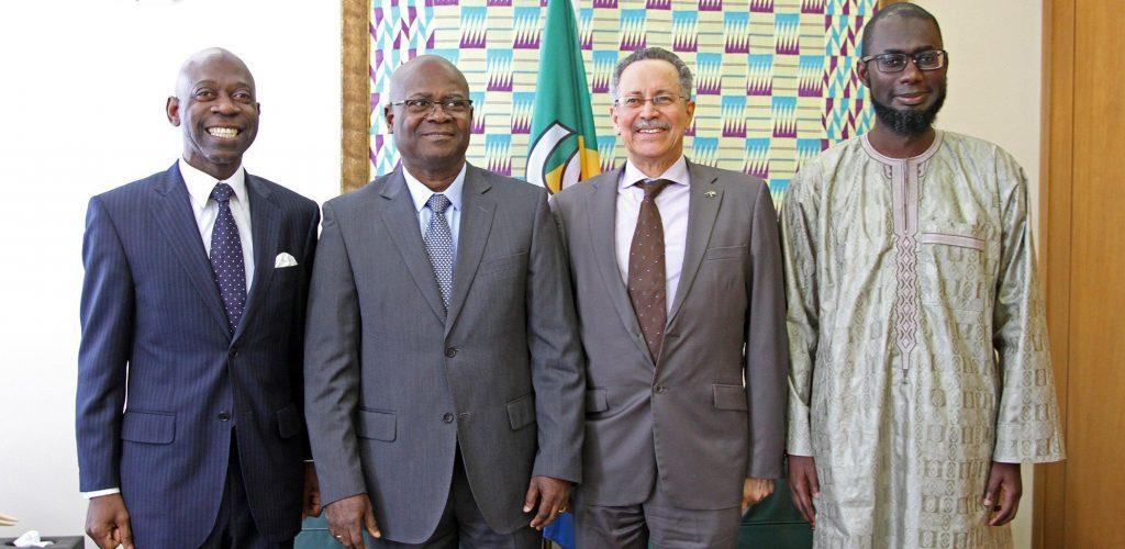 El Viceministro Dougan mantiene en Bruselas un importante encuentro con la ACP