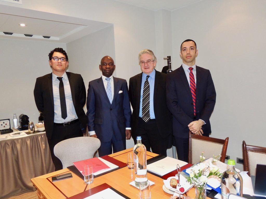 El Embajador en Bruselas asienta las bases de la defensa de nuestro país