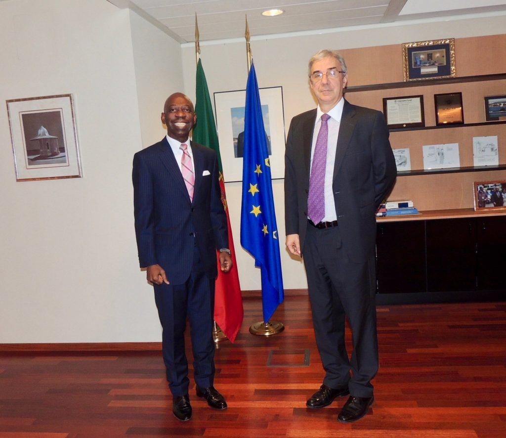 Importante encuentro con el Embajador de Portugal ante la UE