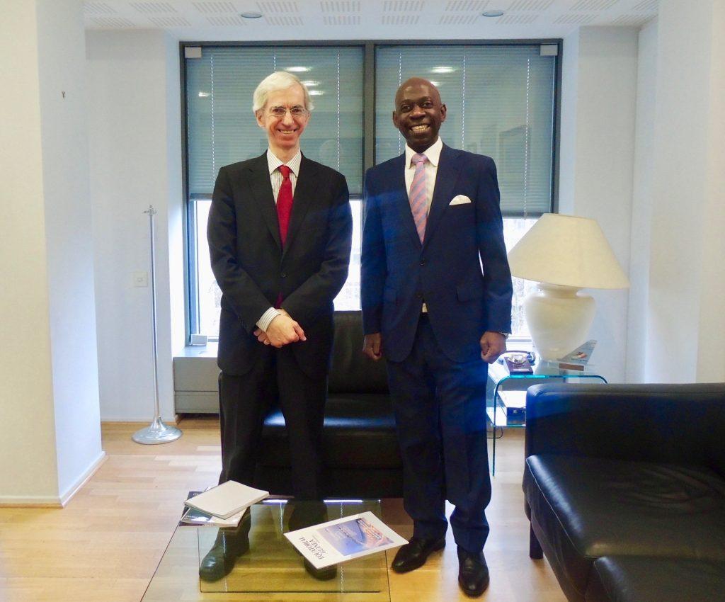 El Embajador en Bruselas continua con el importante tour diplomático para informar sobre el ataque a nuestro país