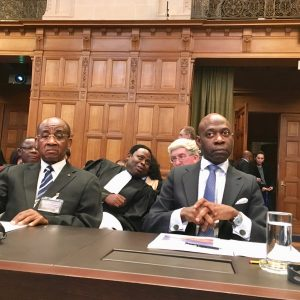 Ambassador Nvono-Ncá reminds before the International Court of Justice that Equatorial Guinea enjoys total and not partial independence