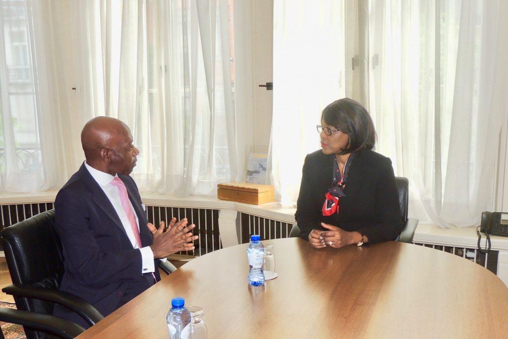 El Embajador reafirma su compromiso con el Grupo ACP