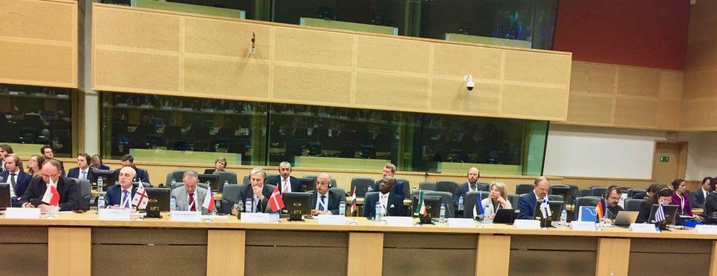 El Embajador, presente en la III Conferencia Ministerial sobre las Víctimas de la Violencia Étnica y Religiosa en Oriente Medio