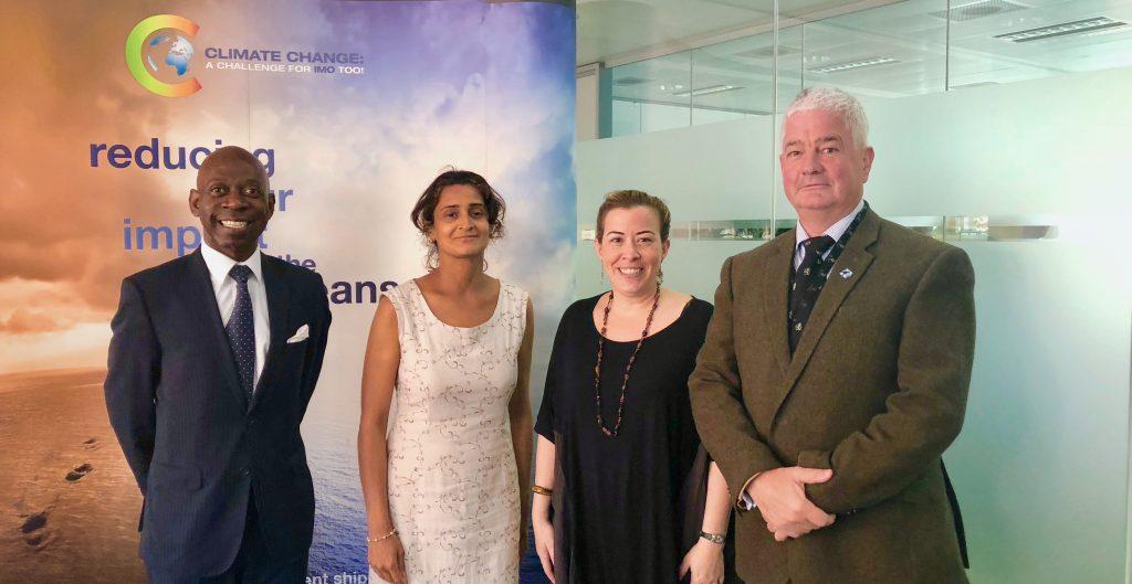 El Embajador visita la Organización Marítima Internacional