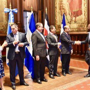 Nuestro Embajador asiste a la celebración de la independencia de Centroamérica