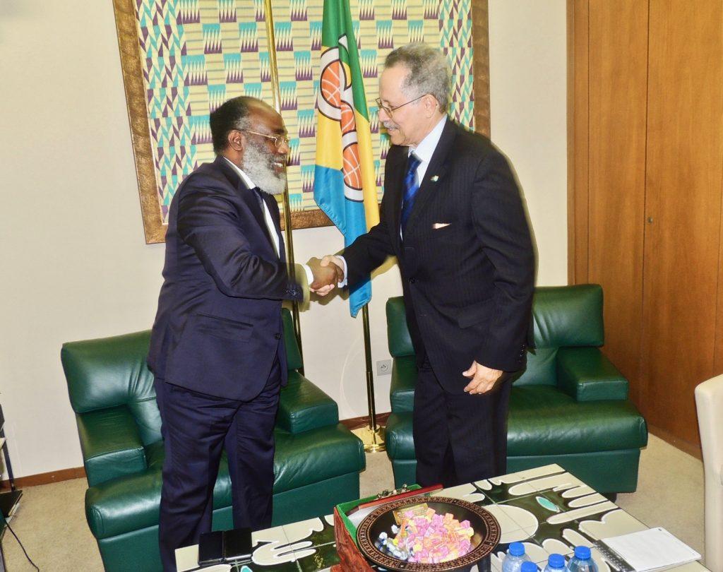 Misión en Bruselas del Ministro Delegado de Comercio