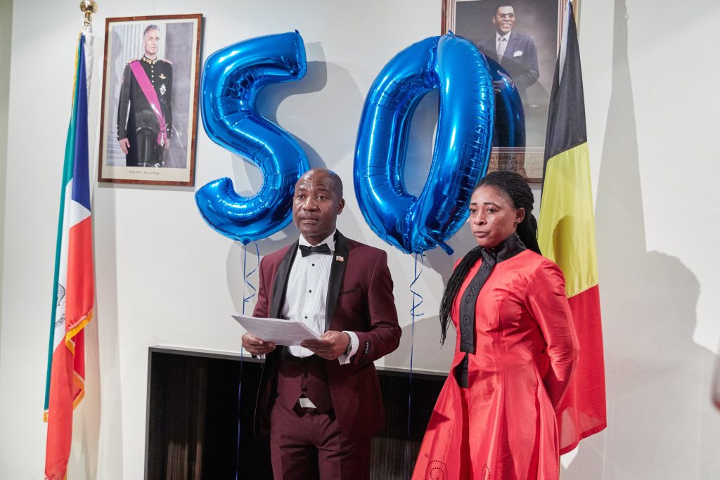 Bruselas celebra los 50 años de la Independencia