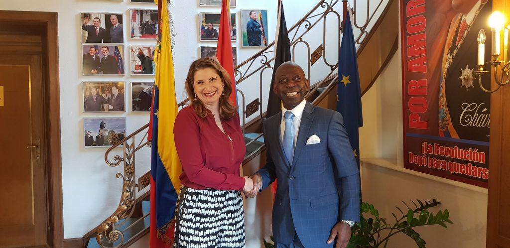 Dinamarca y Venezuela: el Embajador sigue presentando la Oficina de Cooperación Sur-Sur