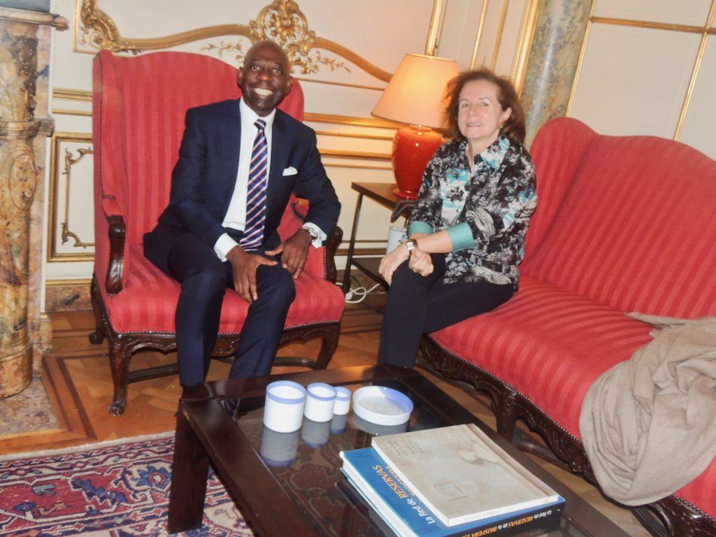 Importantes reuniones con Embajadores europeos