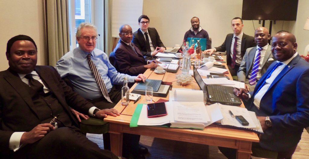 Reunión preparatoria para el caso ante la Corte Internacional de Justicia