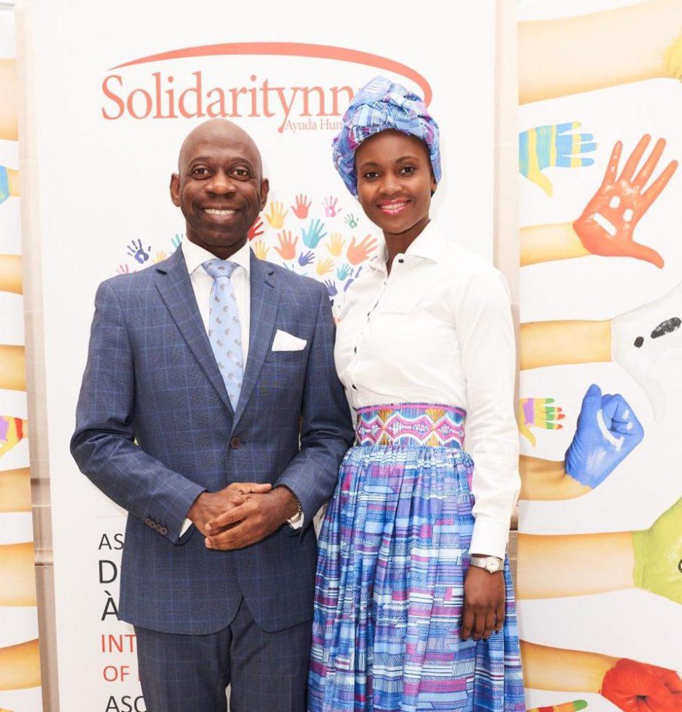 El Embajador Nvono-Ncá invitado en la gala anual de Solidaritynnm