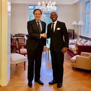 Rencontre avec l'ambassadeur d'Espagne à Luxembourg
