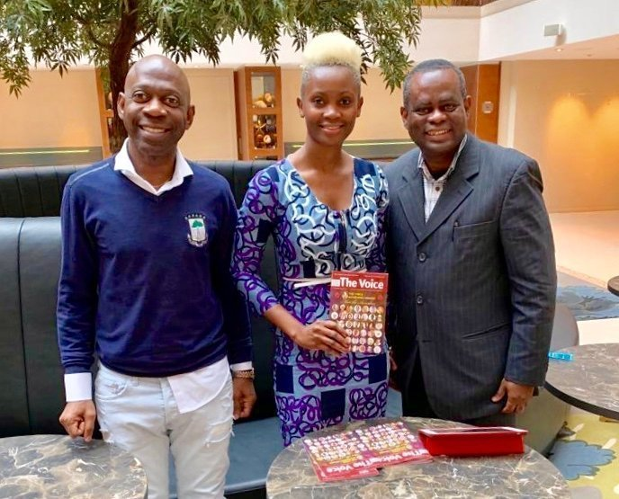 El Embajador defiende la candidatura del Presidente Obiang al premio al mejor Presidente