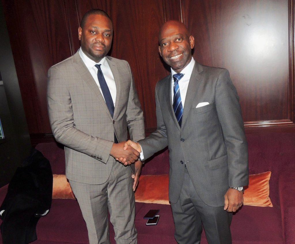 El Embajador en Bruselas promociona los éxitos de las iniciativas del presidente Obiang