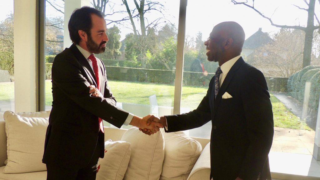 El Embajador recibe a la Federación de Empresarios de Ciudad Real