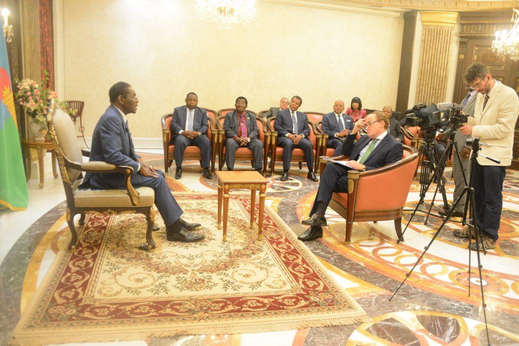 Importante entrevista al Presidente Obiang
