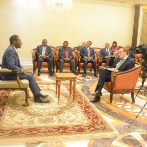 Interview importante avec le président Obiang