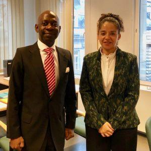 El Embajador se reúne con el Ministerio belga de Asuntos Exteriores