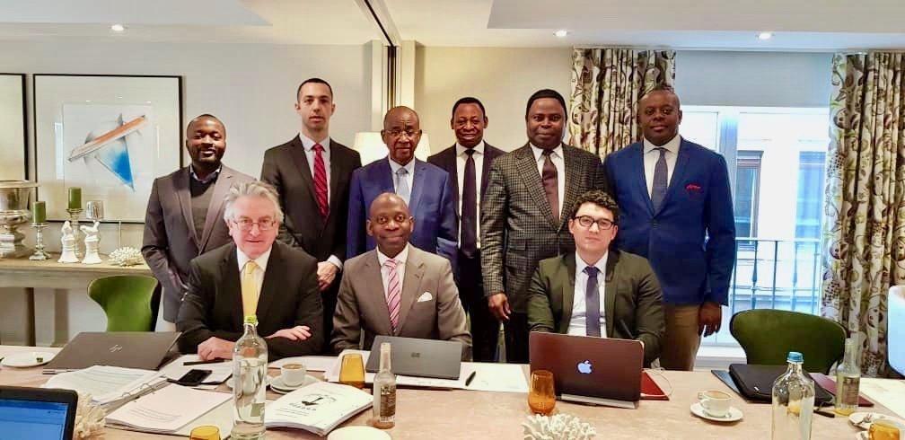 El Embajador en Bruselas clausura las reuniones del equipo jurídico internacional de Guinea Ecuatorial