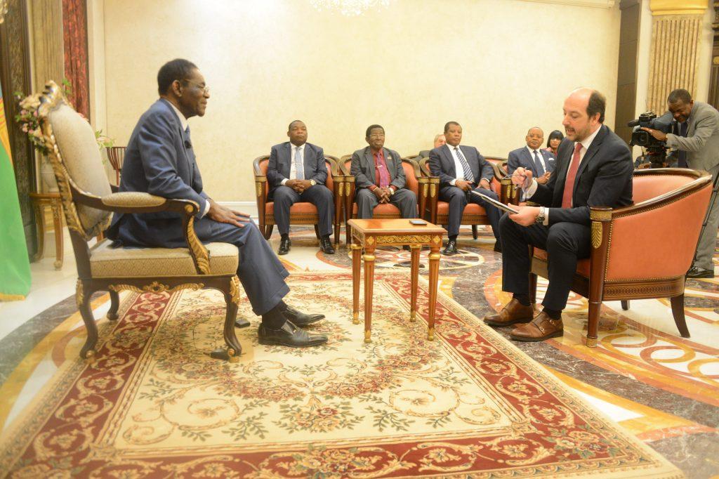 Histórica entrevista al Presidente Obiang en la prensa portuguesa