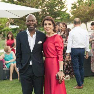 Nvono-Ncá, invitado de excepción en la inauguración de un hotel de lujo en España