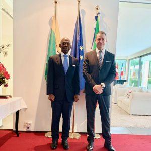 Journée de travail avec le représentant permanent de l'Organisation internationale de la Francophonie