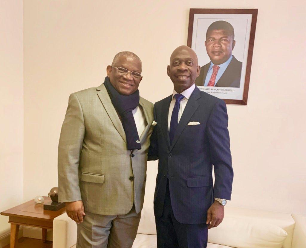 Nvono-Ncá valora positivamente la candidatura del Embajador de Angola en Bruselas como próximo Secretario General de la ACP