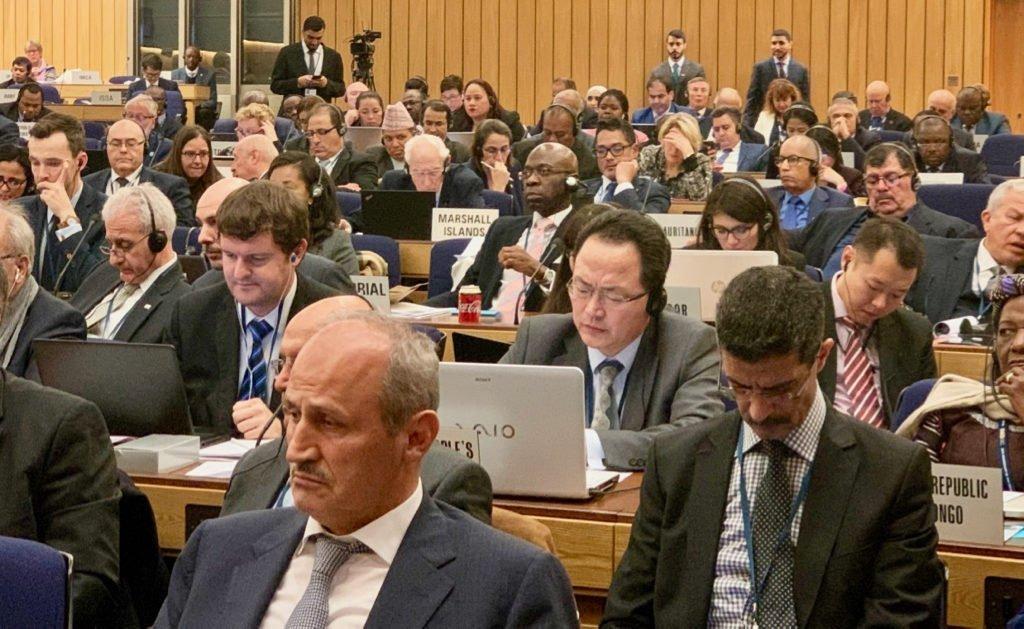 Nvono-Ncá asiste a la 31ª edición de la Asamblea de la Organización Marítima Internacional