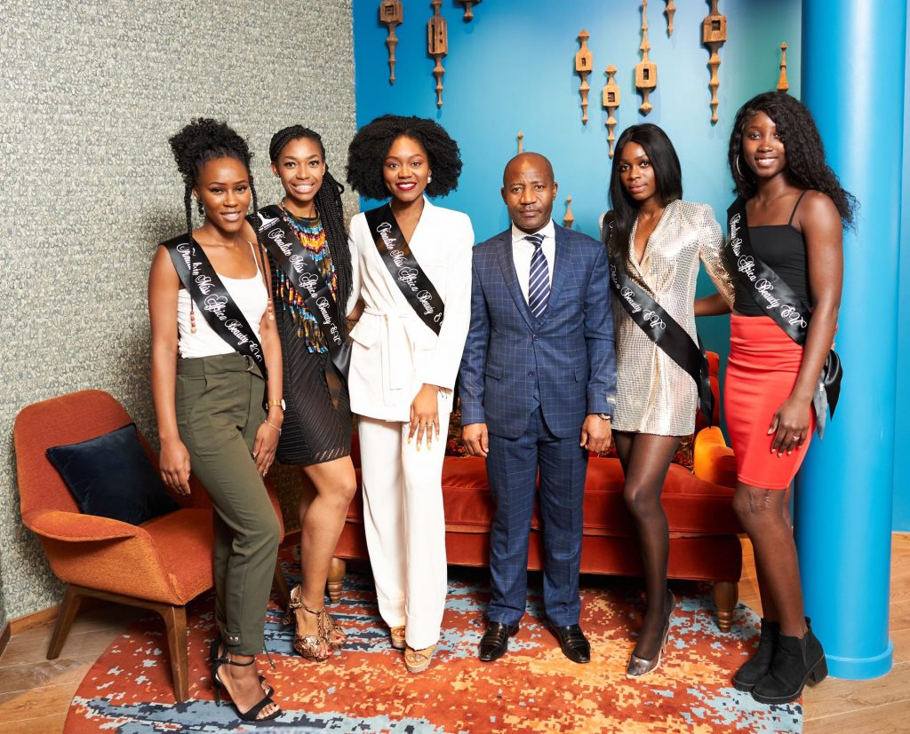 The Brussels-based embassy held a meeting with the finalists of the Miss Africa Beauty European Union contest