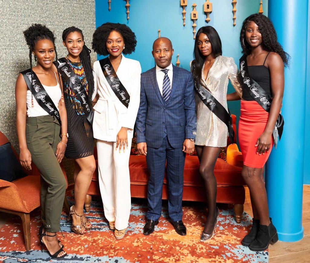 La Embajada en Bruselas se reúne con las finalistas del concurso Miss Africa Beauty European Union