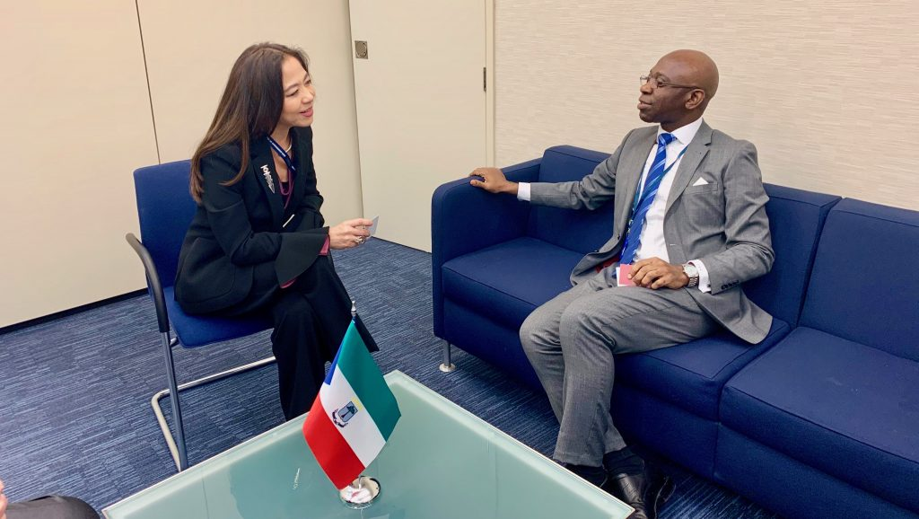 Nvono-Ncá meets with the Mexican delegation to the IMO