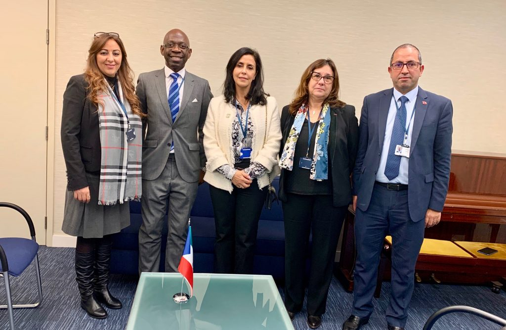 Nvono-Ncá shows its support for the Moroccan delegation within the IMO in London