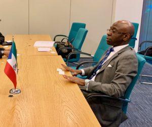 Nvono-Ncá se reune en Londres con una importante delegación gubernamental de Jamaica