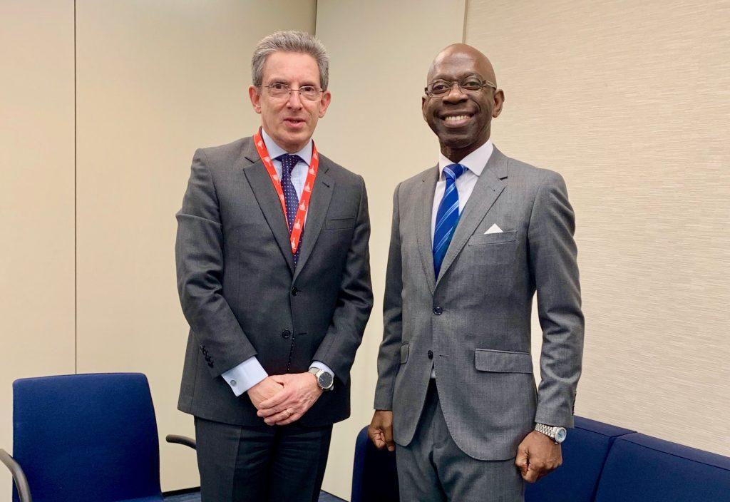 Nvono-Ncá se reúne en Londres con Perú y estrecha lazos en materia de Cooperación Sur-Sur y Triangular