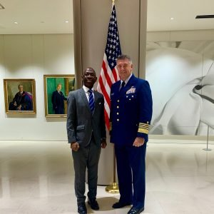 Nvono-Ncá invited to London to an important event with the American army