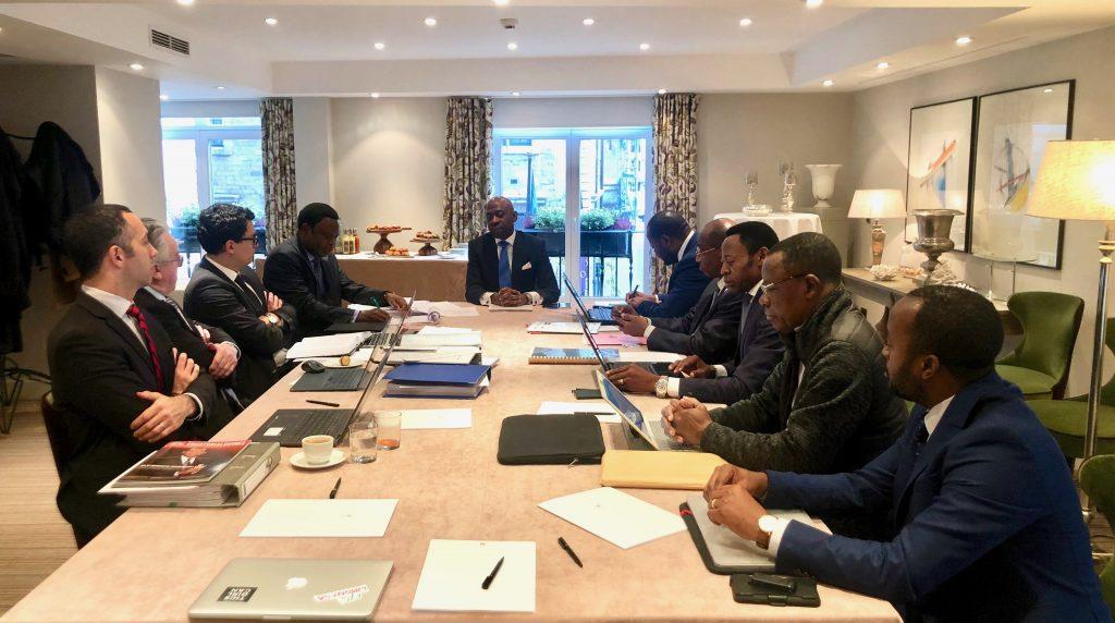 Nvono-Ncá rassemble l'équipe d'avocats internationaux pour préparer la session finale à la Cour Internationale de Justice