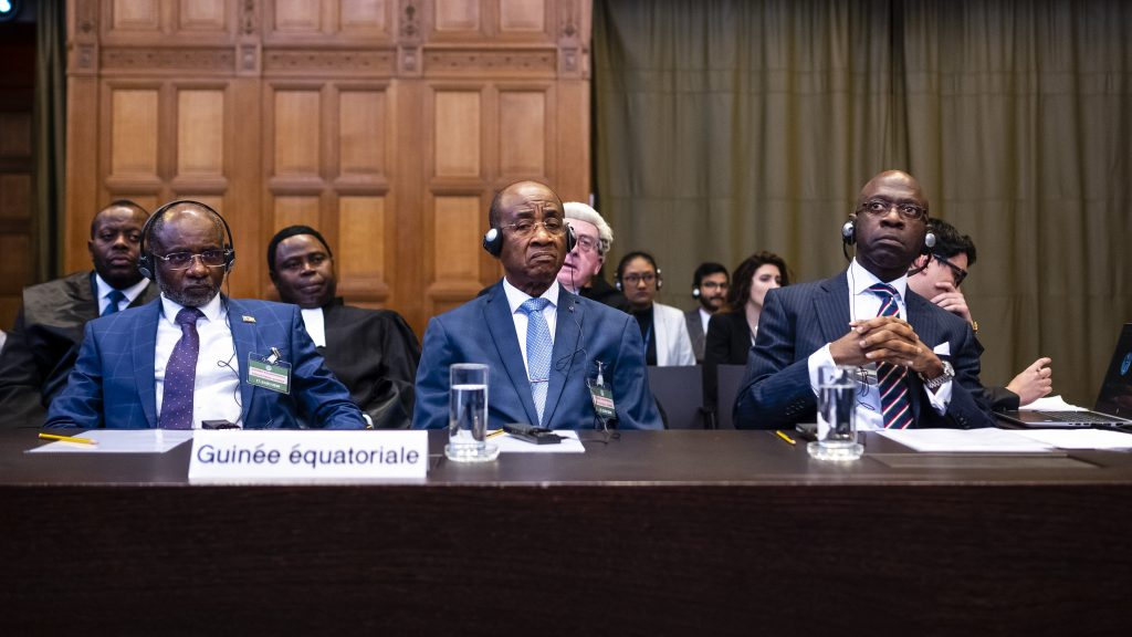 Equatorial Guinea presents its conclusions to the International Court of Justice