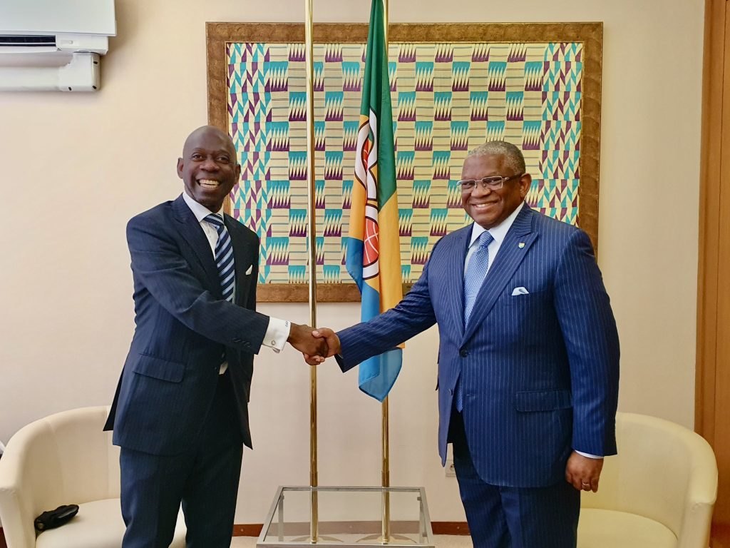 The ACP Secretary General informs Nvono-Ncá of the appointment of the first Director of the Office for South-South and Triangular Cooperation in Malabo