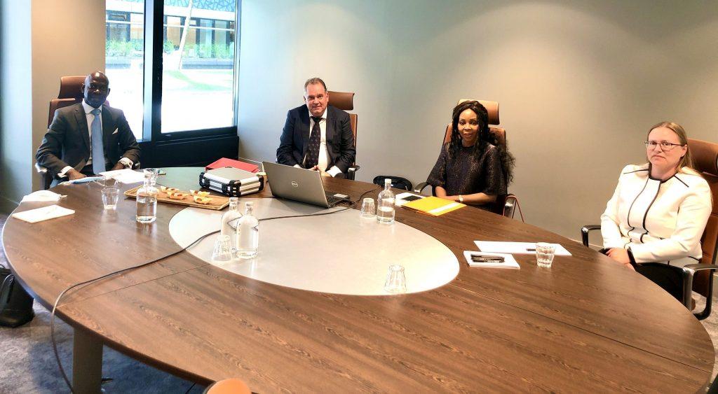 El Embajador ante la OMI y la UE se reúne con la empresa de referencia en el mundo sobre la gestión de puertos